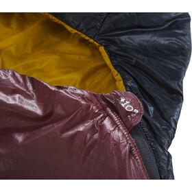 Nordisk Oscar +10° Curve Sac de couchage M, rio red/mustard yellow/black
